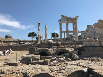 世界遺産 ベルガマ遺跡