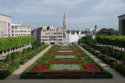 ベルギー旅行 3-1 朝の散歩とワッフルファクトリー