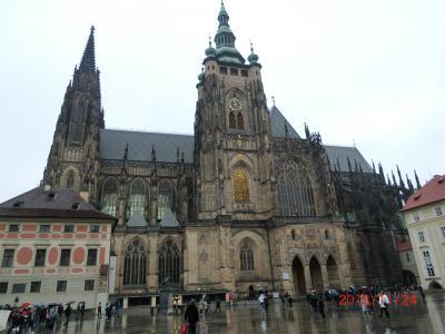 歴史の街・チェコ国 その③プラハを歩く