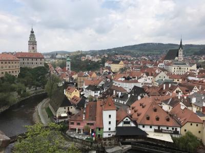 GWチェコ・オーストリア旅行④ チェスキークルムロフ