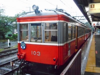 2019年 6月下旬 プチ箱根・・・・・②箱根登山電車つりかけ車両惜別乗車