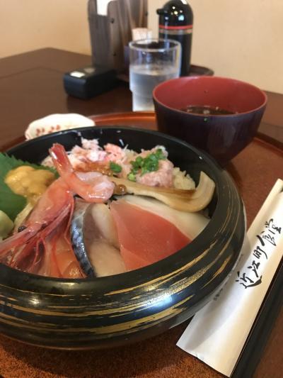 金沢 近江市場で海鮮丼と茶屋街を歩く ひとり旅①