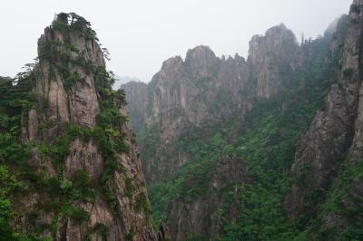 父の退職記念で中国・黄山③(これぞ中国、黄山+おまけの屯渓老街)