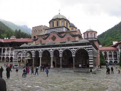 ブルガリア、オーストリア、チェコ旅行リラの僧院編