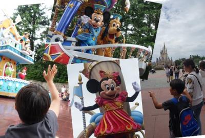 2019 孫と行くディズニー第4弾!小学生もハマった夢と魔法の国♪