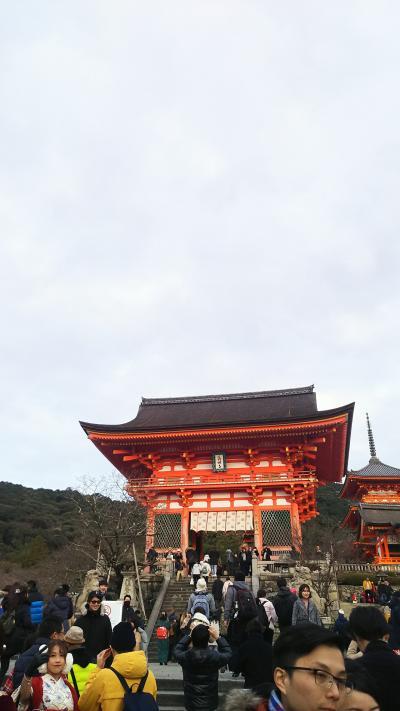 年末年始の名古屋と京都