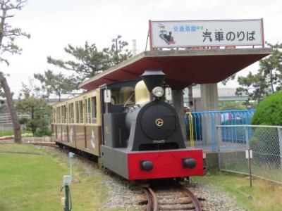 阪堺電車に乗って天王子から浜寺公園に行きました