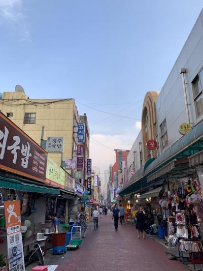 格安で行けるから大好きな釜山へ。帰りは関空へ。