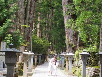 G20で警備が厳しい大阪に泊って世界遺産 高野山へ行ってきた。
