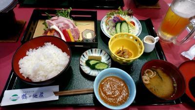 秋田県横手市の温泉で宿泊。あいのの温泉 鶴ヶ池荘で宿泊