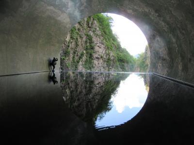 レンタカーで八海山と清津峡を巡る