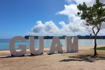 令和初の家族旅行はグアム 初日