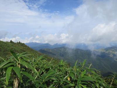 2018 兵庫県最高峰の氷ノ山登山とキャンプ