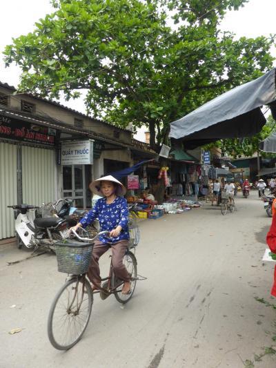 ハノイ発デイトリップ・ノンラーの生産地チュオン村へ(親子旅第13弾ベトナム北部 04ハノイ郊外)