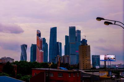 ロシア(1)  モスクワへ