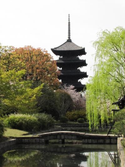 2019/4/12 東寺・鉄道博物館・西本願寺・東本願寺・渉成園