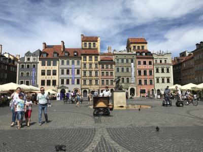 ワルシャワ観光 王宮から蜂起博物館