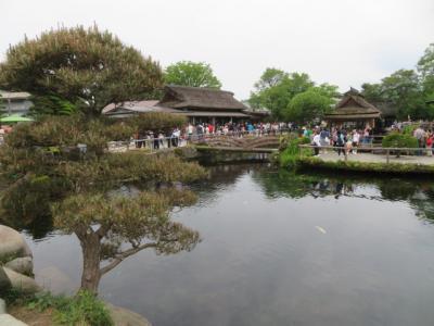 富士五湖周辺の観光(富士山世界遺産センター・河口湖美術館・忍野八海)をしました