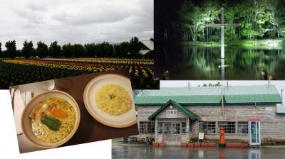 最適な季節のハズが雨にたたられた北海道