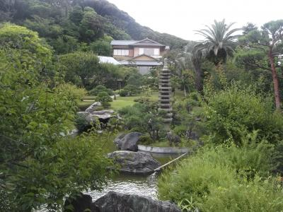大磯の吉田茂邸と三井別邸跡の大磯城山公園