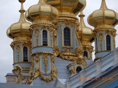 「宮殿」:{世界遺産}エカテリーナ宮殿(一部モスク風外観も)ロシア・サンクトペテルブルク 写真追加版