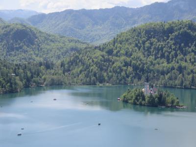 ギリシャ、アルバニアを経て旧ユーゴスラビアの国々を周遊(6)息を呑むほど美しい【ブレッド湖】