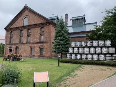 朝観光(休憩中)   札幌 麦酒醸造所