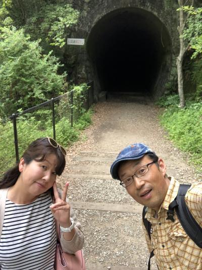 2019年JR福知山廃線敷でハイキング