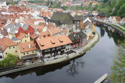 一人旅♪憧れのチェコへ③ おとぎの国チェスキークルムロフ