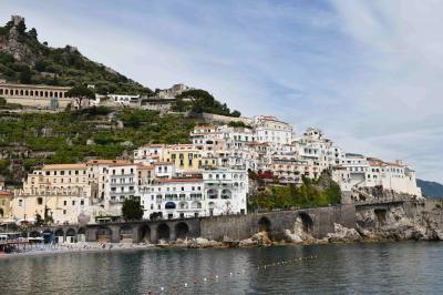 イタリア2週間+エーゲ海クルーズ1週間 計3週間の旅-5 アマルフィとポジターノ編