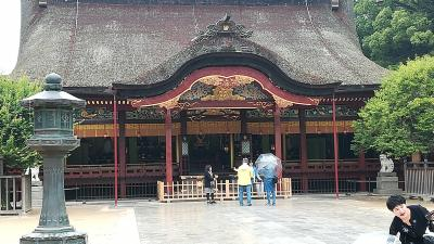 2018年四国・九州遠征4・5日目(2018/6/5・6) 雨上がりの太宰府天満宮と船の旅