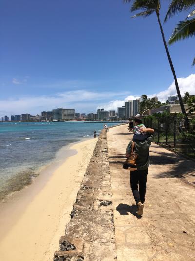 1歳の誕生日祝いにハワイ旅行♡