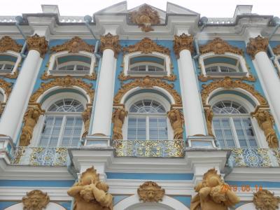 ロマノフ王朝の栄華が残るサンクトペテルブルグを歩く。