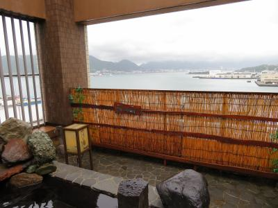 出張ついでの…#41-3 (^^ゞ  【宿泊レポ☆62】 1日目-3 関門海峡を望める展望温泉があるドーミーインPREMIUM下関