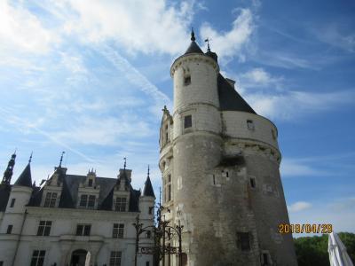 2019ヨーロッパひとり旅 9・10日目 パリと個人で行くアンボワーズ・シュノンソーお城巡り