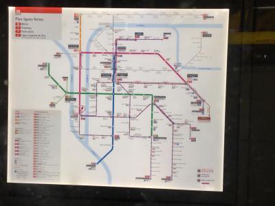 フランスひとり旅3日目後半~リヨン着 地下鉄移動