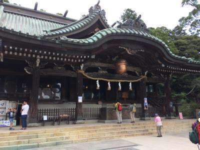 大人の遠足気分で筑波山神社へ