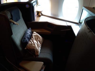 ホーチミン2泊+トランジット@桃園空港1泊旅。④往路はエコだったけど復路はビジネスで。帰国編。