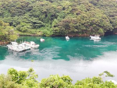 梅雨の晴れ間の五島列島