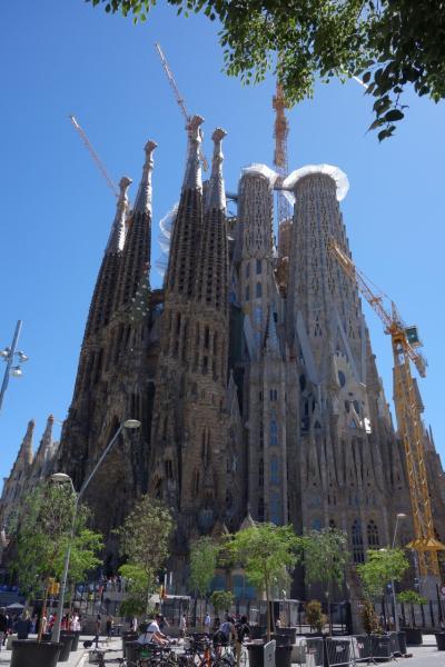 ヨーロッパ・駆け足10日間の旅(2日目)バルセロナの一日