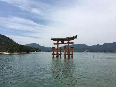 日帰り旅  広島へ