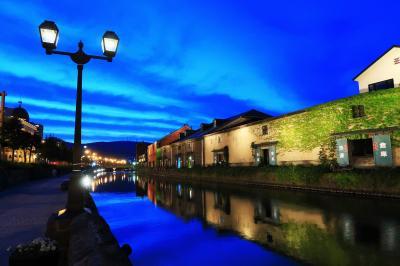 初夏の小樽ひとり旅(3)~小樽運河の風景と夜景