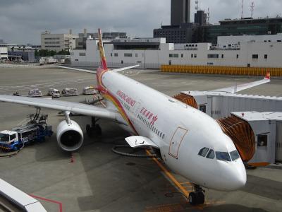 香港航空ビジネスクラスで行く マカオ・台北5泊6日のひとり旅 1日目
