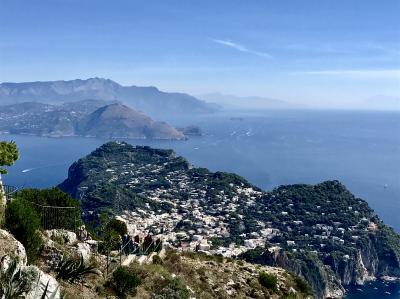 しつこいパピーは、3度目の南イタリア (PART7 カプリ島 ソラーロ山・青の洞窟 編)