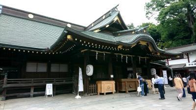 府中の大国魂神社に行ってきました。