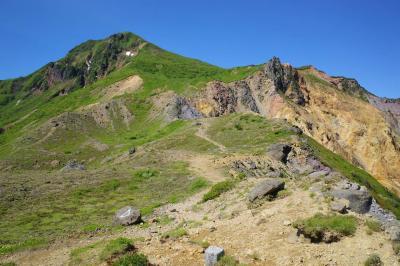 磐梯山登山と五色沼(電車・バス・タクシー利用)
