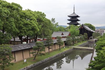 京都・さんぽ地図の旅 ⑧東寺~梅小路・京都水族館