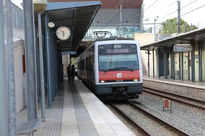 コローニア・グエル駅からスペイン広場駅まで