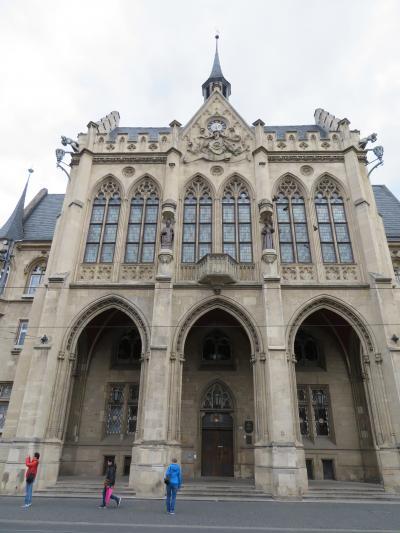 心の安らぎ旅行(2019年 5月 Erfurt エアフルトPart3 Rathaus&Fischmarkt 市庁舎とフィッシュマルクト♪)