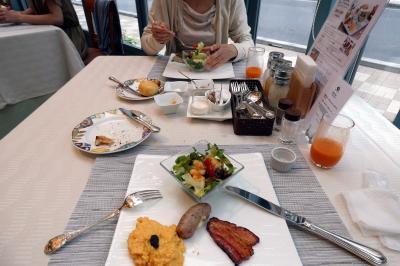 05.就職ガイダンスを聞く東京1泊 ホテルモントレ ラ・スールギンザ イタリア料理 サンミケーレの朝食